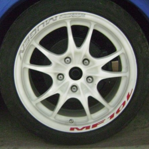 change circuit 10 civic type r wheels!!