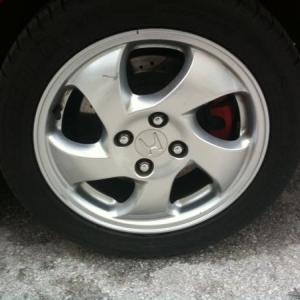 S2000 rear brakes