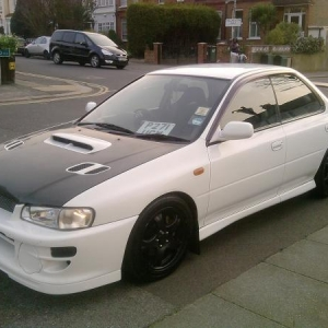Gc8 sti sold