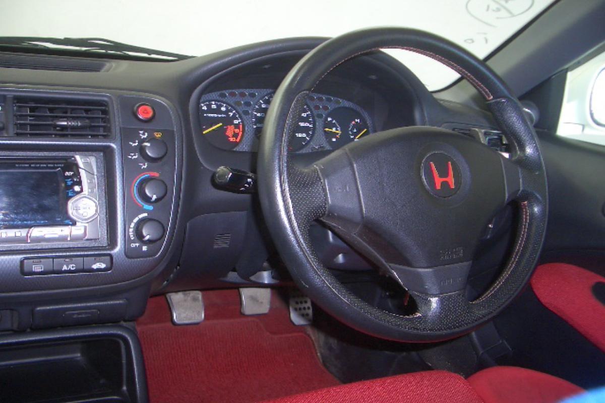Honda civic ek9 interior