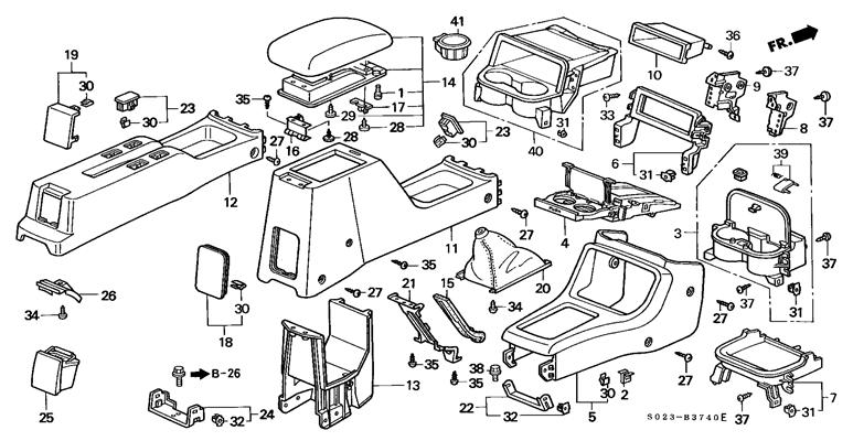 98 Honda Civic Interior Diagram : 31 Wiring Diagram Images
