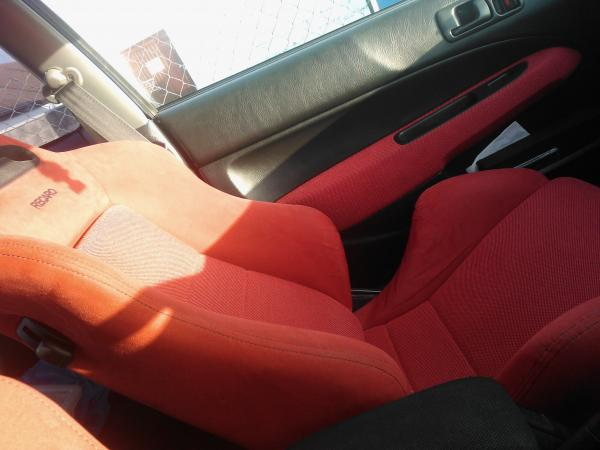 full recaro interior