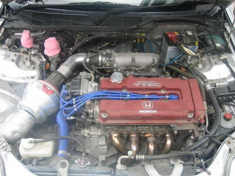 MY B16 MONSTER ENGINE